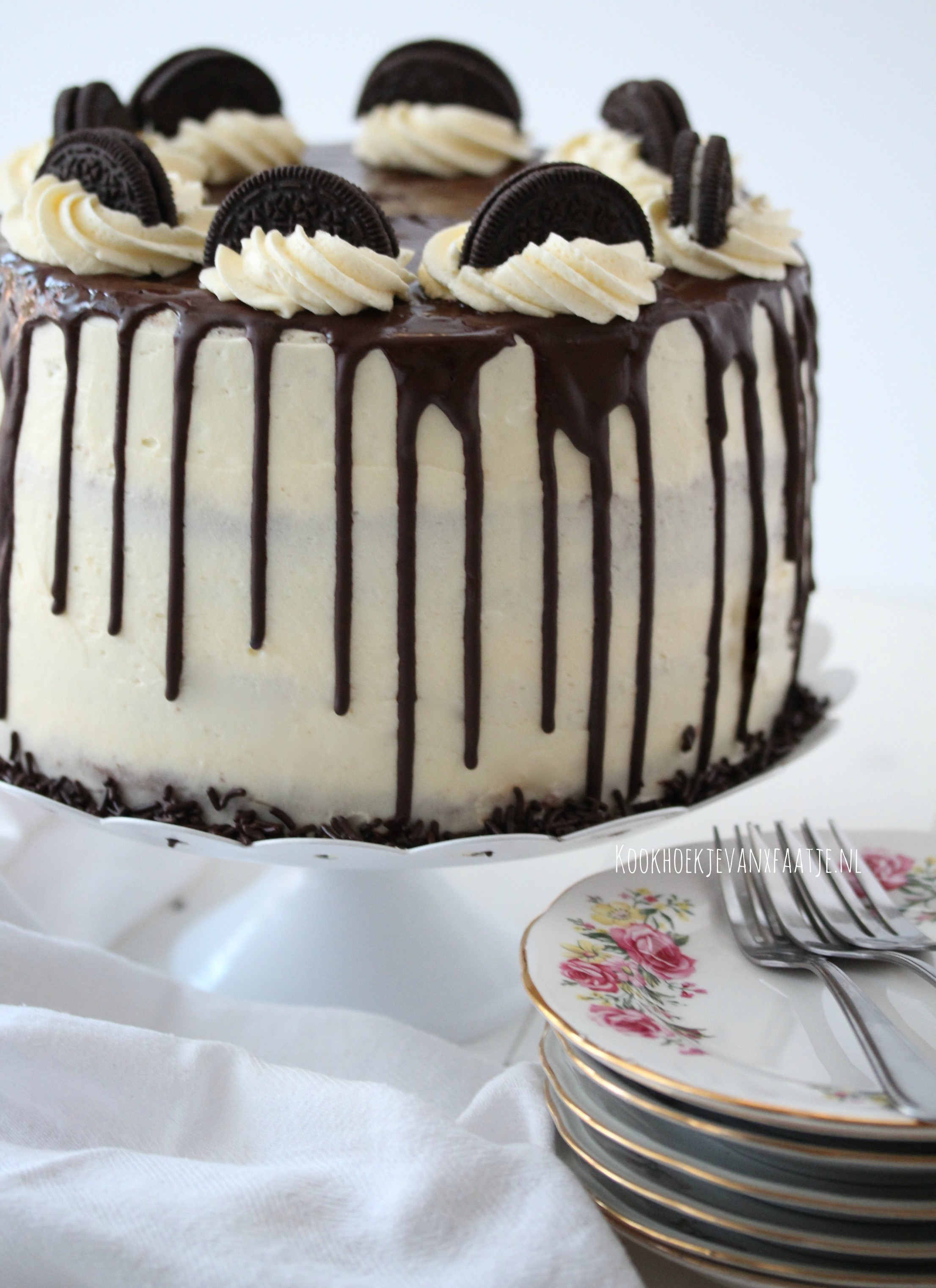 Goede Chocolade Drip Taart – Uit de keuken van Fatima FT-66